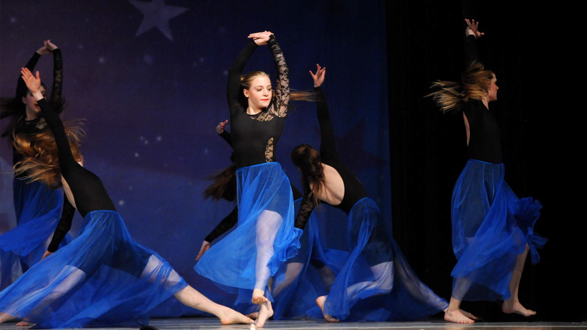 Girls performing arts