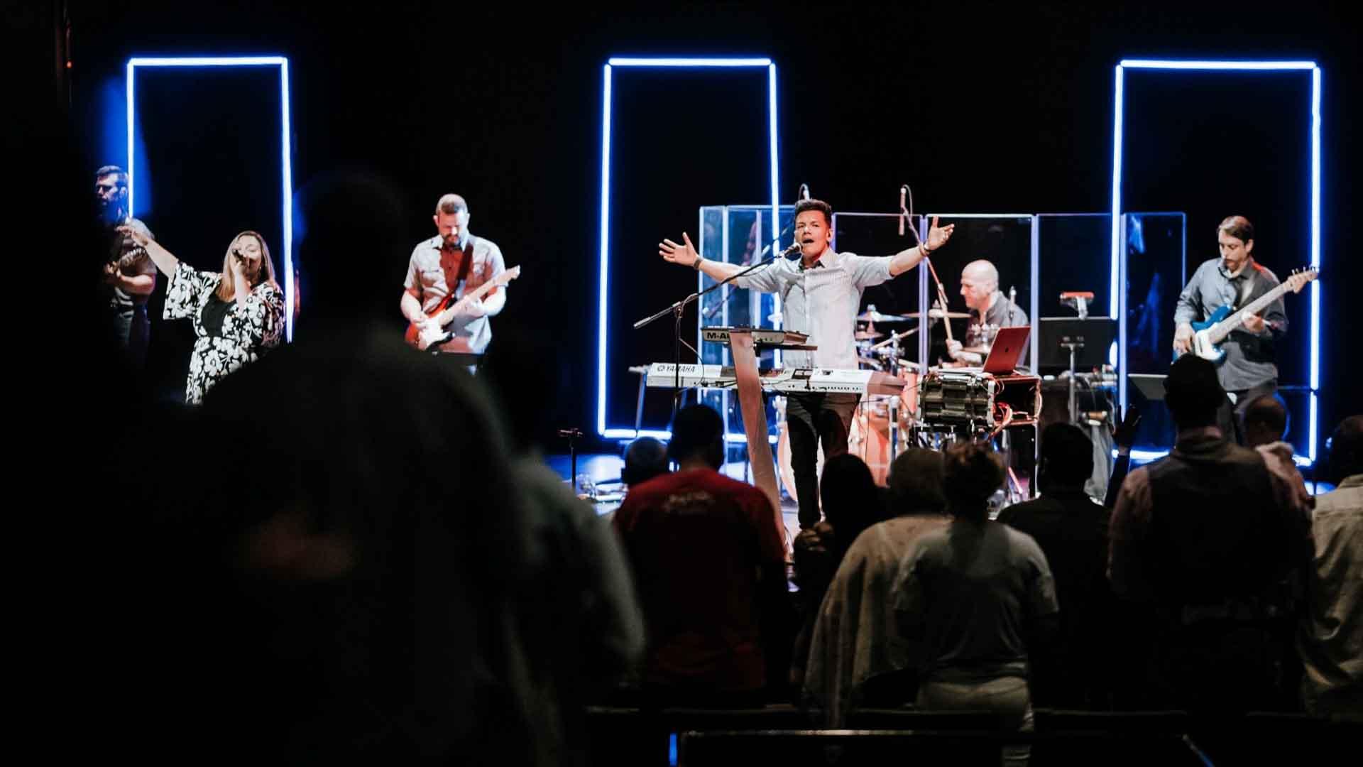 Mt Zion Church News - Band Playing Music