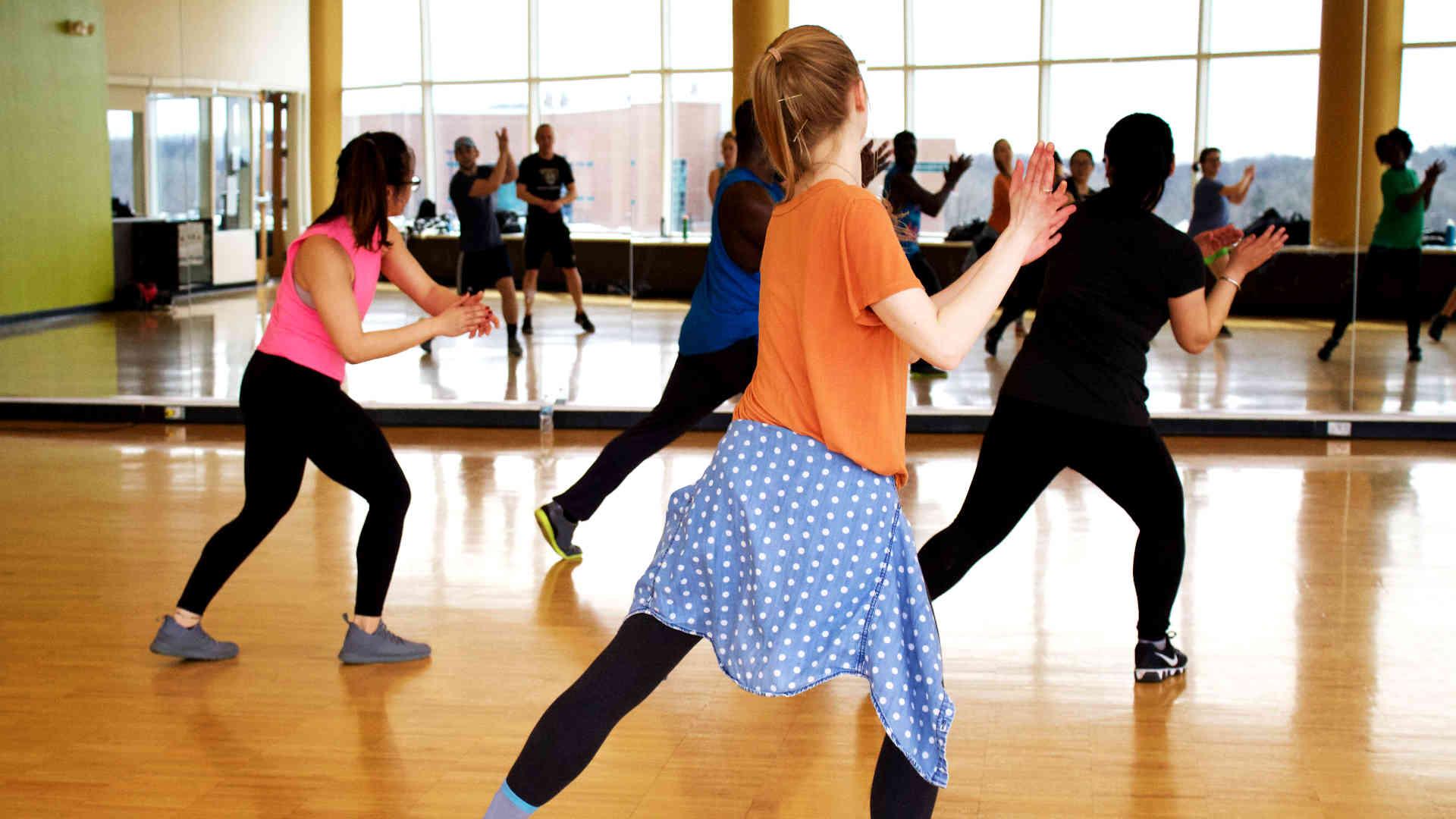 People participating in Summer Adult Dance Workshops